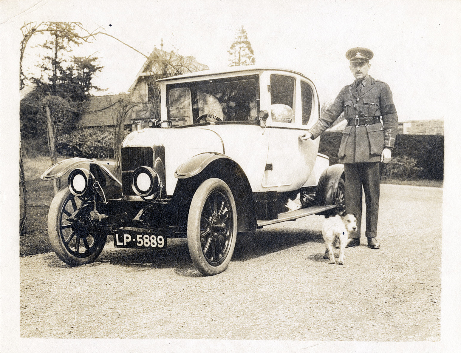 Claud And Car 1917