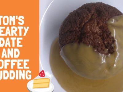 Tom's Hearty Date and Toffee Pudding