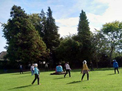 Circle Dance Outdoors!