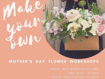 Mothers Day Flower Workshops
