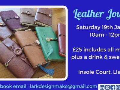Leather Journal Making Workshop