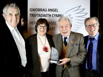 Insole Court Wins Public Vote in Heritage Angel Awards