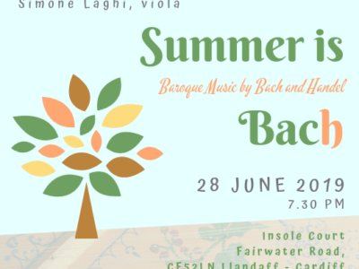 """Summer is Bach"""