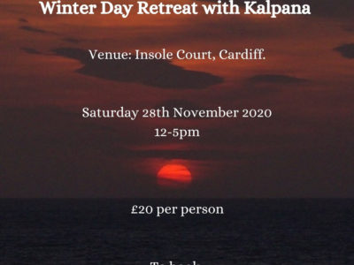 Cardiff University Yoga Society Winter Day Retreat 2020