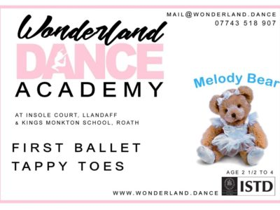 Ballet Classes for Preschool Children (2 ½ to 4 years)