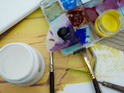 Art Adventures with Acrylics