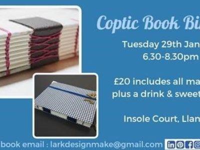 Coptic Book Binding Workshop