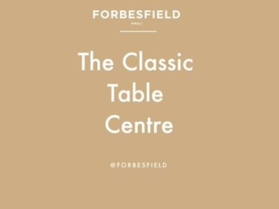 Forbesfield: THE CLASSIC CHRISTMAS TABLE CENTRE with Forbesfield Flower School