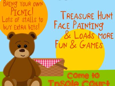 Teddy Bears Picnic for Ty Hafan