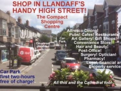 Insole Court Friends thank Llandaff traders for their support of the 'Teddy Bears Picnic'