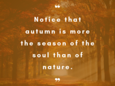 Intuitive Writing: Honouring the Seasons