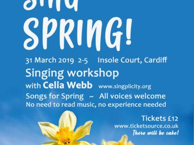 Sing Sing Spring!