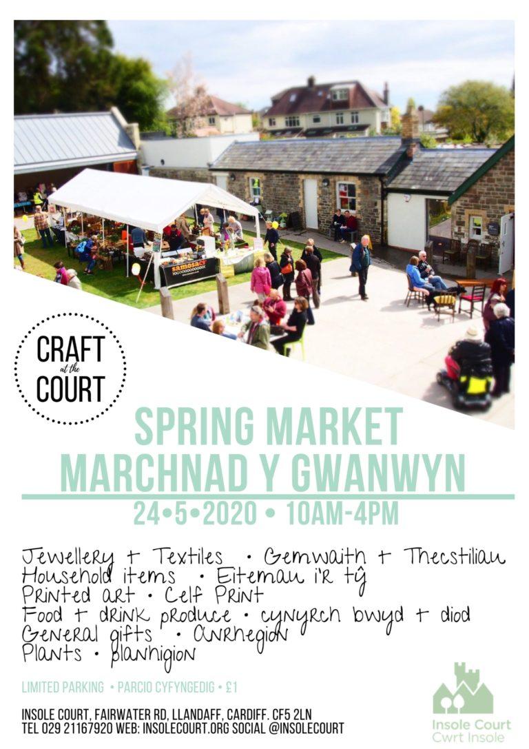Promo image: Spring Market/Marchnad  Y Gwanwyn