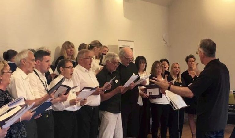 Promo image: Insole Court Community Choir