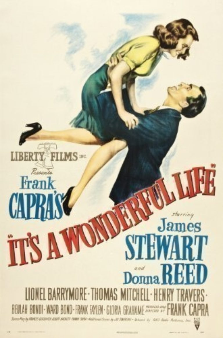 Promo image: SOLD OUT Pop Up Christmas Cinema- It's a Wonderful Life