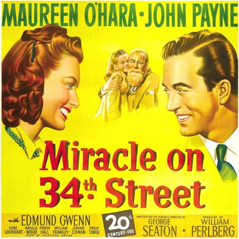 Promo image: SOLD OUT Pop Up Cinema: Miracle on 34th Street