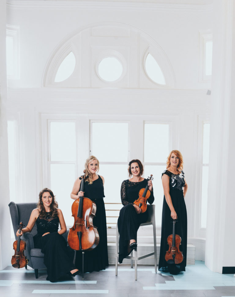 Promo image: The Mavron Quartet Christmas Concert