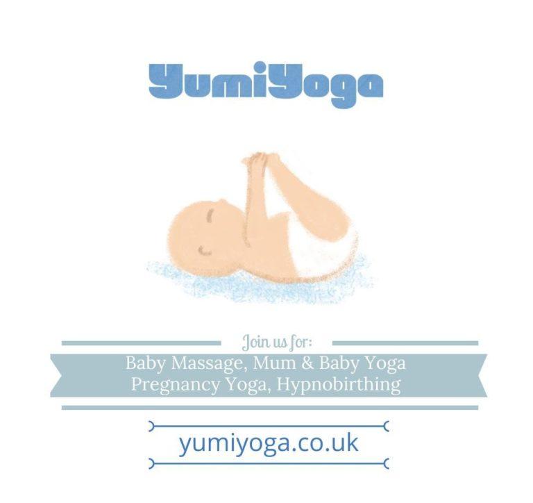 Promo image: Baby Massage with Yumi Yoga