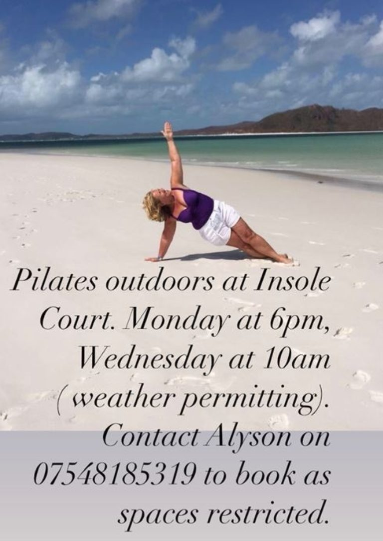 Promo image: Diamond Core Outdoor Pilates Classes