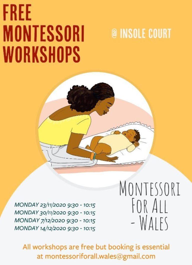 Promo image: Free Montessori Workshops