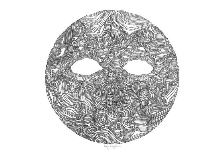 Promo image: Gallery: Cerys Knighton - Drawing Bipolarity