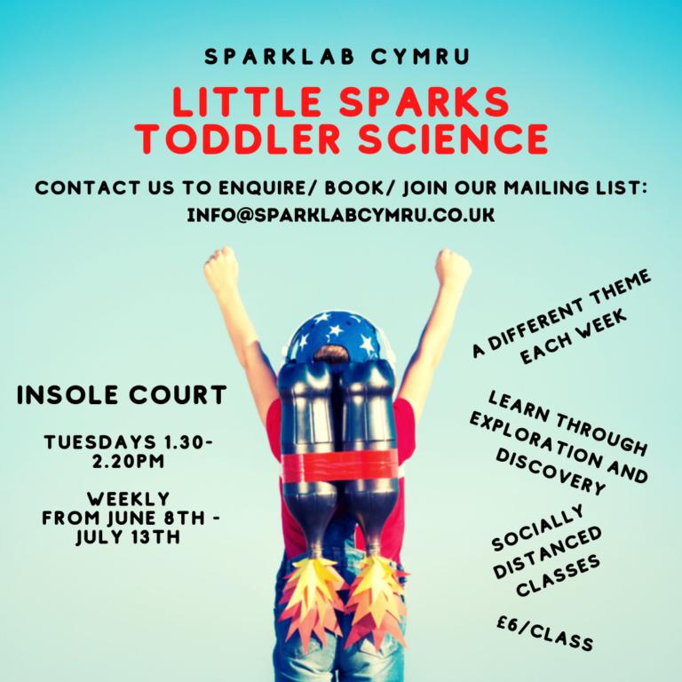 Promo image: Sparklab Cymru - Preschool Science Class
