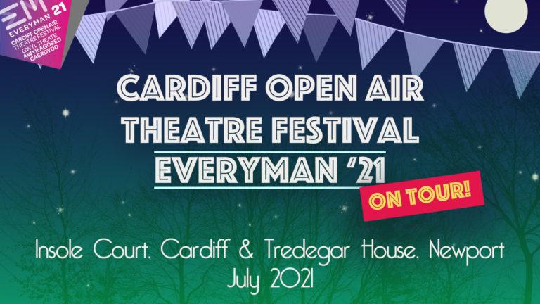 Promo image: Cardiff Open Air Theatre Festival: Everyman 21