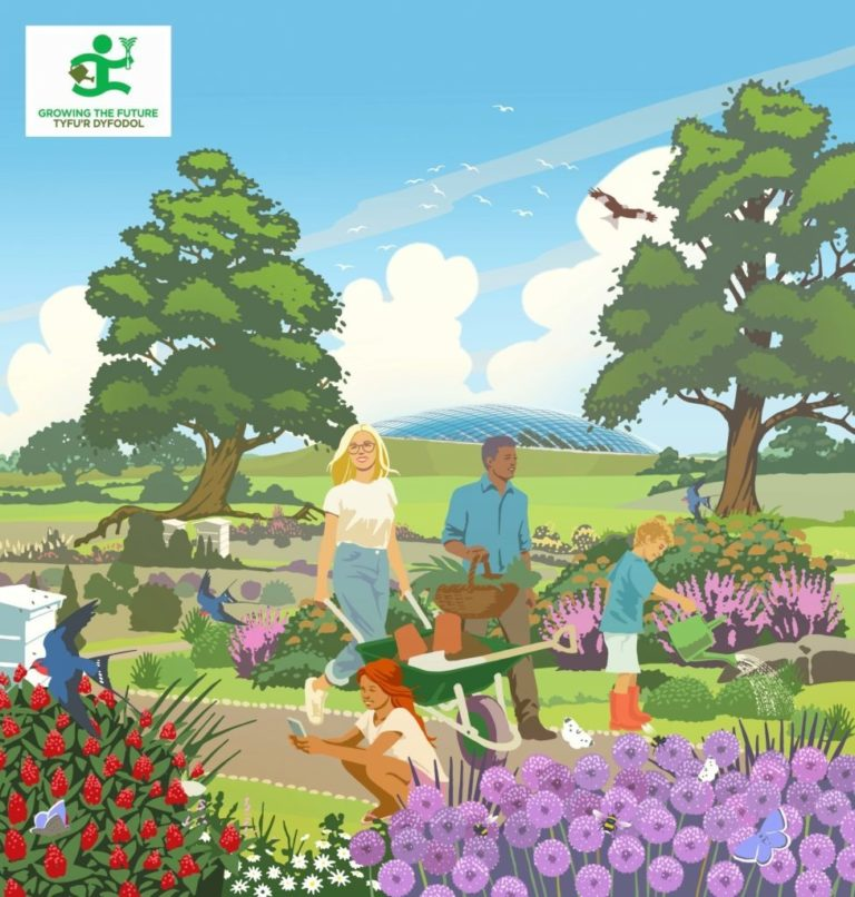 Promo image: Growing The Future with National Botanic Garden of Wales