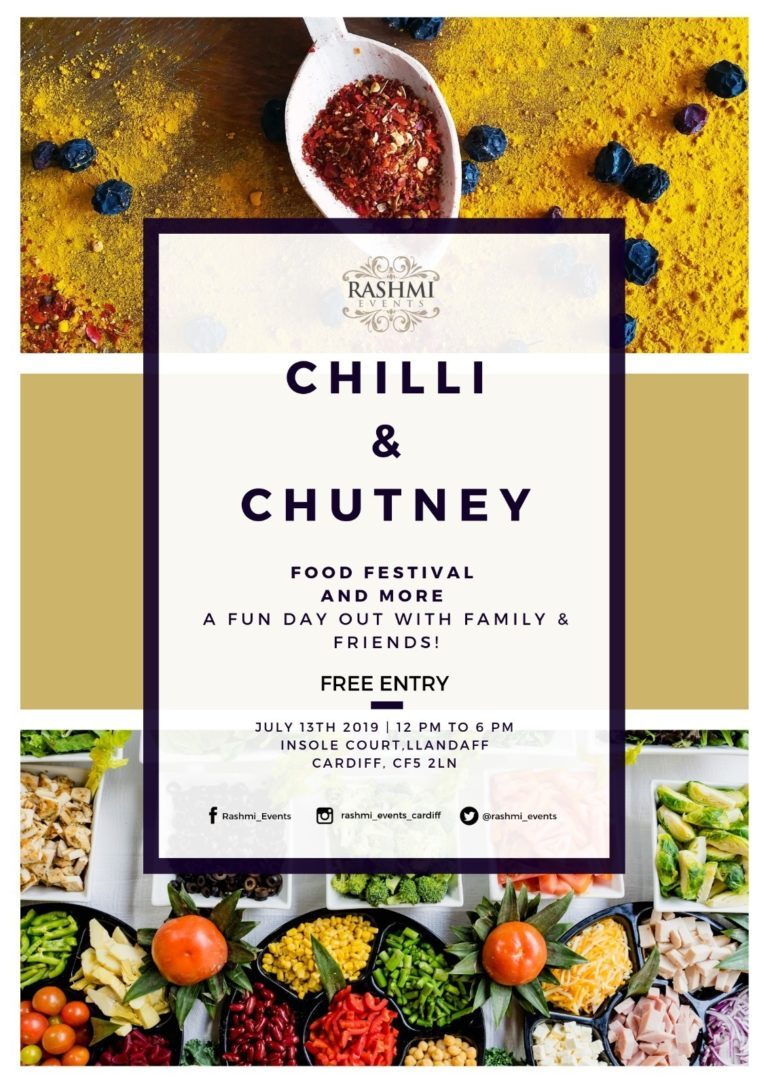 Promo image: Rashmi Events Presents Chilli & Chutney Food Festival