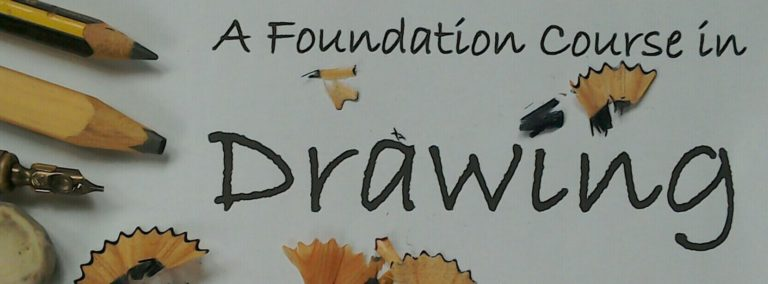 Promo image: A Foundation Course in Drawing