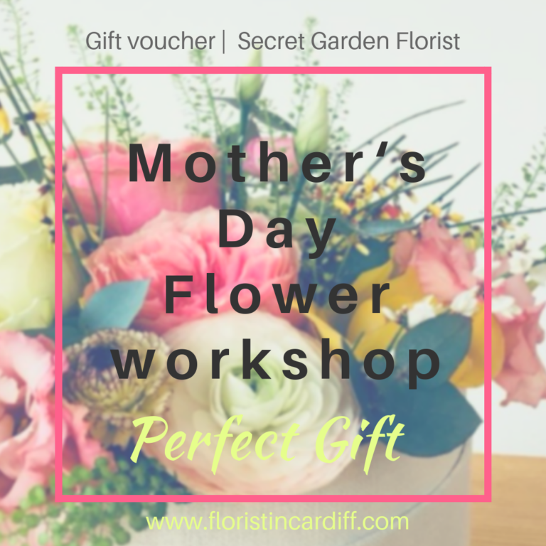 Promo image: Mother's Day Flower workshop