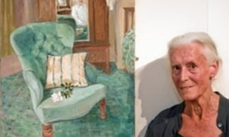 Promo image: Joan Baker, Painter and Gardener — Talk