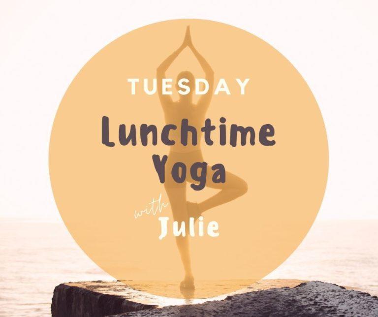 Promo image: Lunchtime Yoga