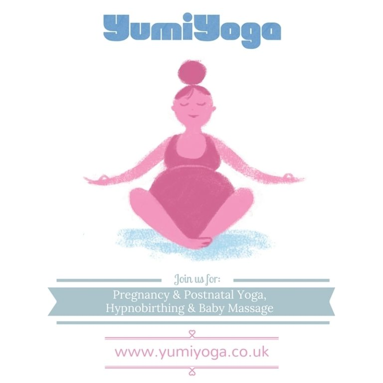 Promo image: Pregnancy Yoga with Yumi Yoga