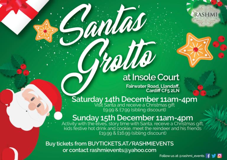 Promo image: Santa's Grotto!