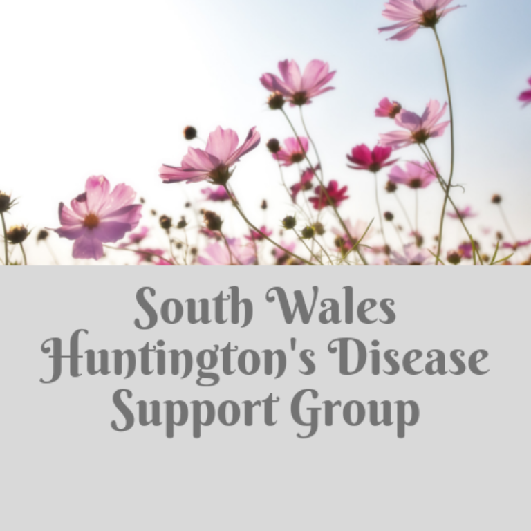 Promo image: South Wales Huntington's DiseaseSupport Group