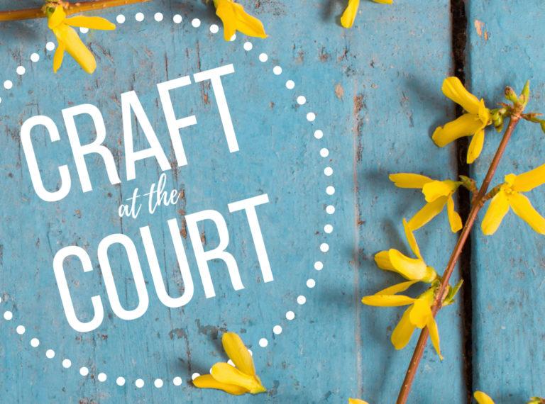 Promo image: Craft at the Court: Springtime Market