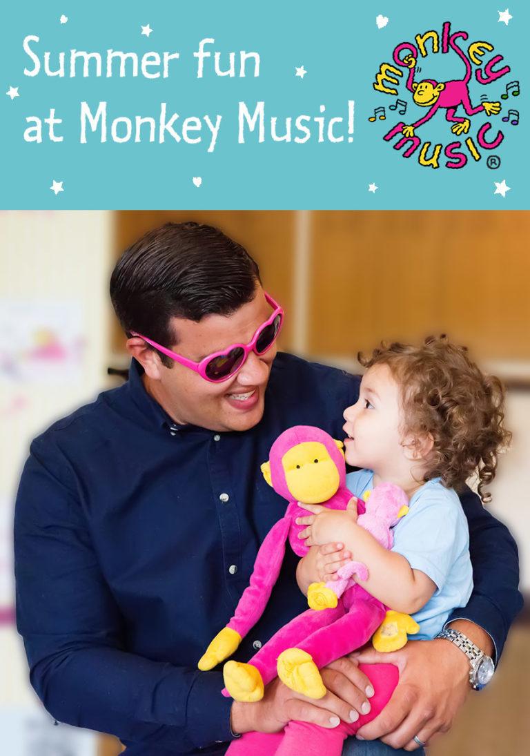 Promo image: Monkey Music Summer Workshops