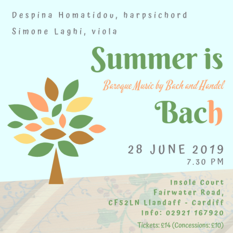 "Promo image: ""Summer is Bach"""