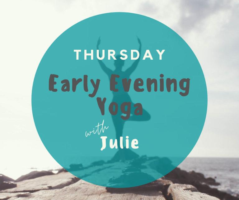 Promo image: Early Evening Yoga