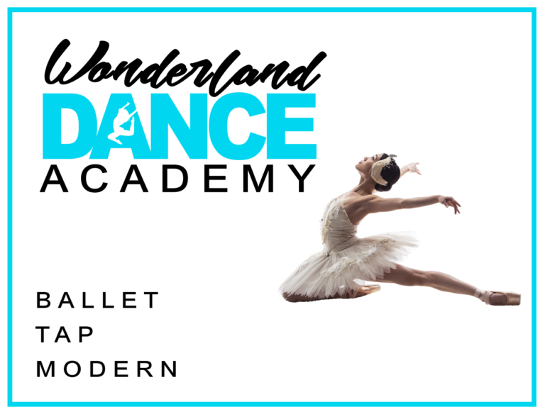 Promo image: Classes in BALLET, MODERN & TAP for 3 year olds through to Adults.
