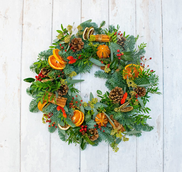 Promo image: Christmas Wreath Workshop
