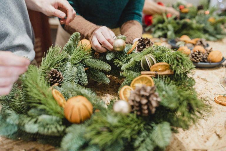 Promo image: Wreath Making Workshop