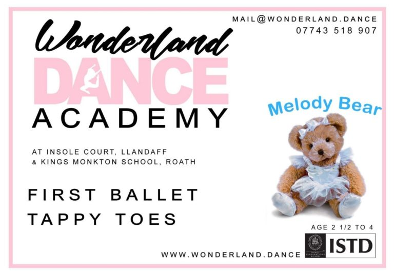 Promo image: Ballet Classes for Preschool Children (2 ½ to 4 years)