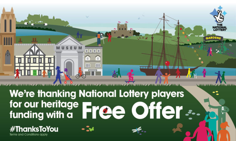 Promo image: Free Thank You Coffee and Welsh Cake