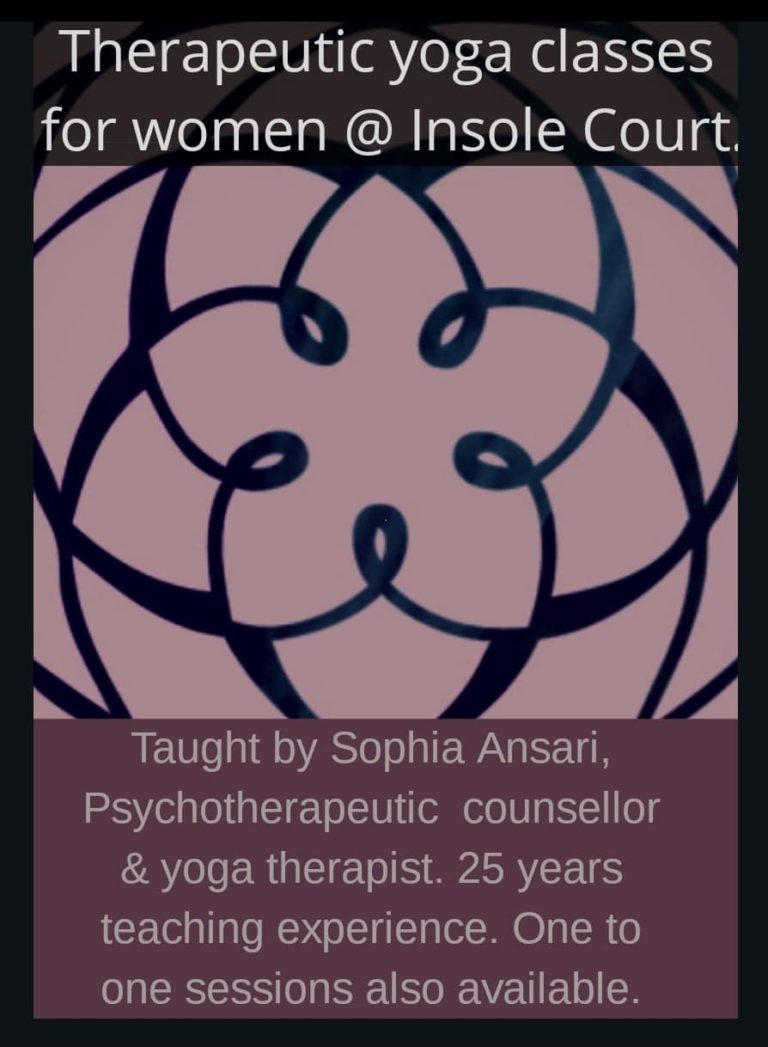 Promo image: Therapeutic yoga  for women
