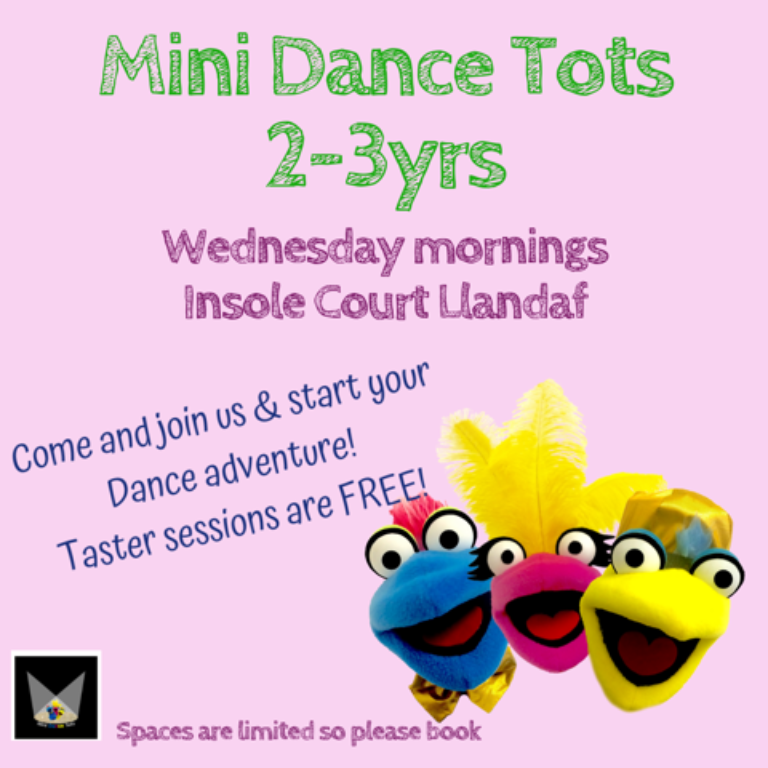 Promo image: Mini Dance Tots