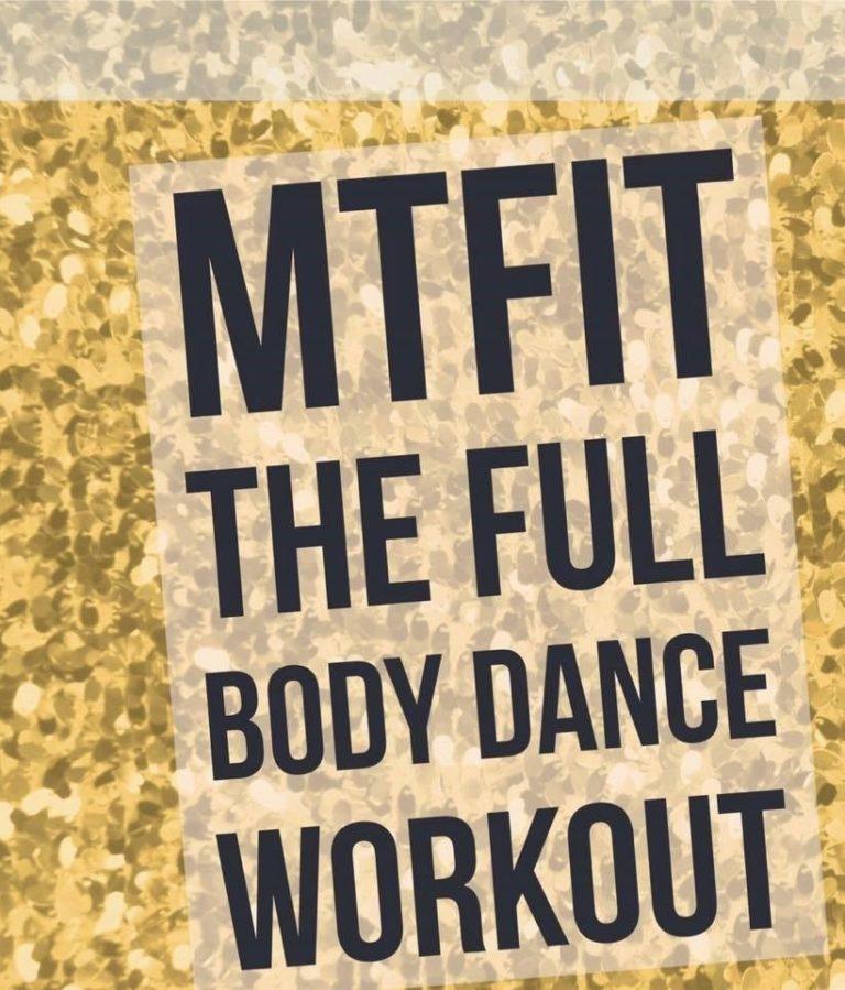 Promo image: Musical Theatre Fitness (MTFit)  A unique Adult Dance Fitness Class