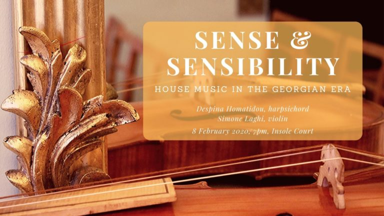 Promo image: Sense & Sensibility