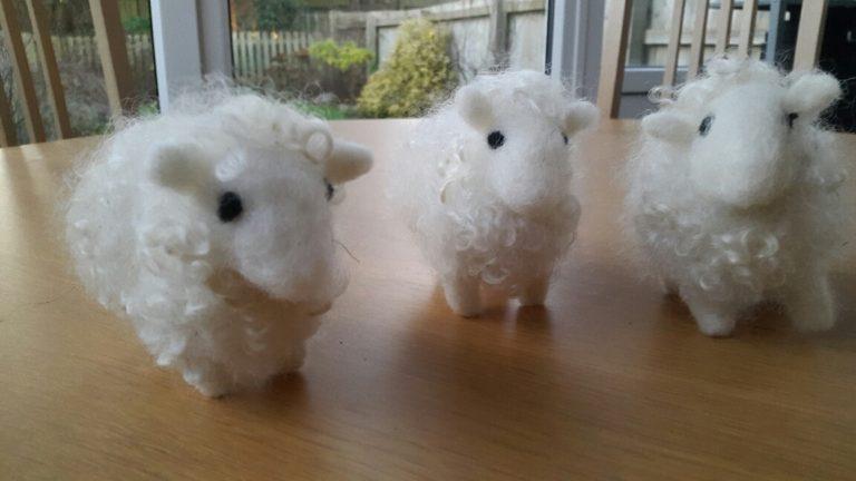Promo image: Needle Felting Your Own Sheep